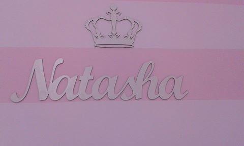 Nome Personalizado (Simples) 60cm + Coroa 20cm