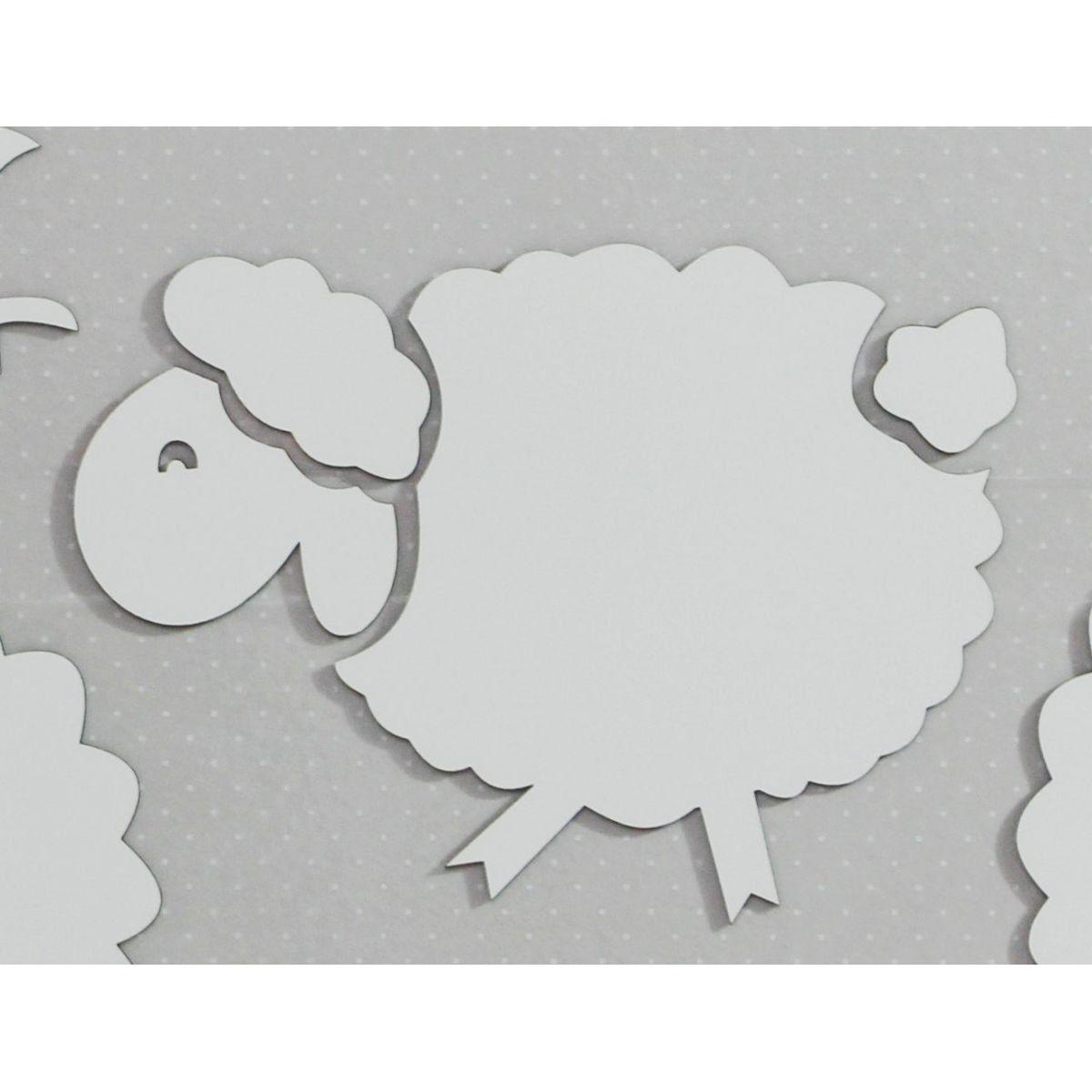 Ovelha em MDF - 40cm