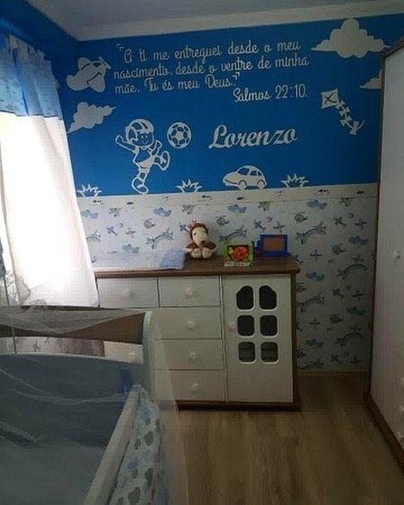 Painel de Parede Menino Brinquedos + Frase Personalizada MDF Branco