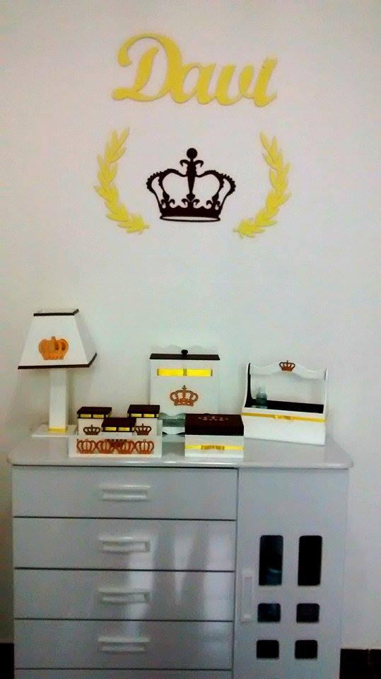 Painel de Parede MINI Príncipe Personalizado MDF CRU