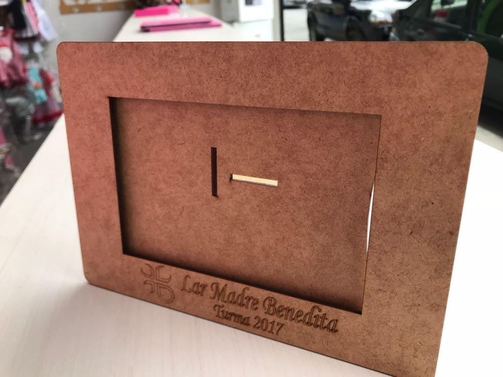 Lote 10 peças - Porta Retrato Personalizado em MDF cru