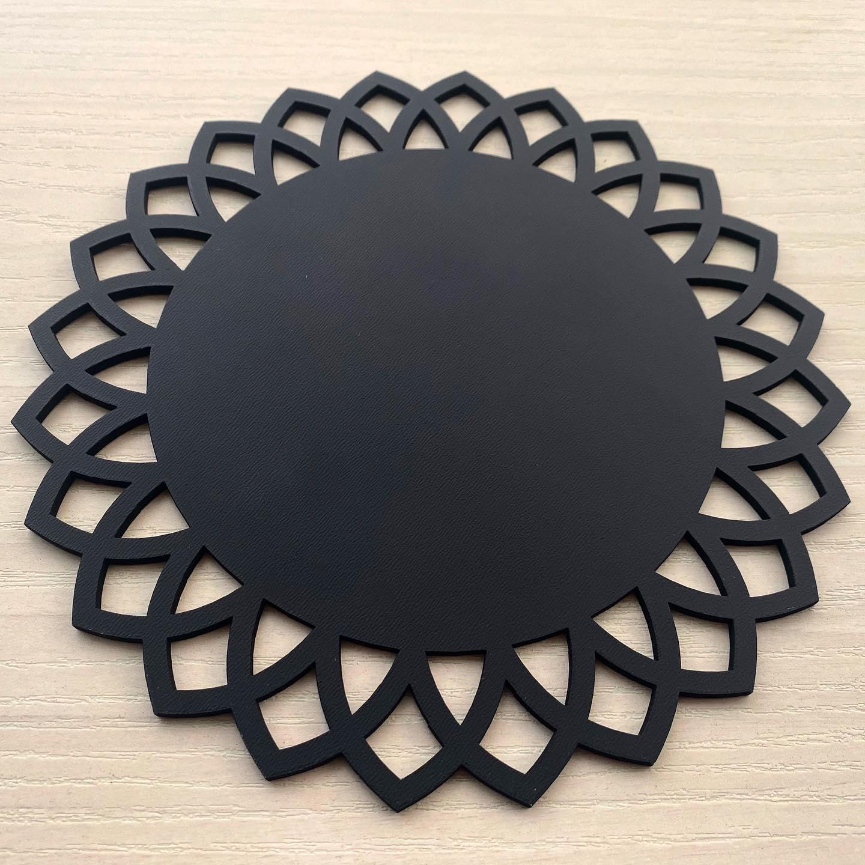 Ref. 006 - Sousplat Arabesco em MDF 35x35cm
