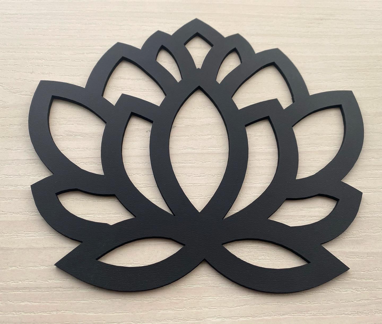 Ref. 009 - Sousplat Floral em MDF 35x35cm