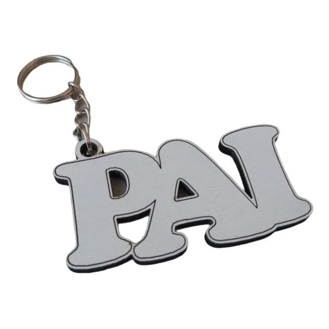 REF. 069 - Chaveiro Pai - Dia dos Pais MDF Laminado