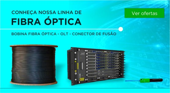 linha fibra óptica.