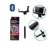 Bastão para Selfie Celular Acionamento Bluetooth Preto EMPIRE