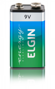Bateria Alcalina 9v 6LR61 ELGIN