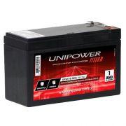 Bateria Selada 12v 7.0AH F187 UP1270SEG OC Nobreak Cerca Alarme UNIPOWER