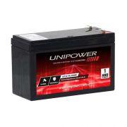 Bateria Selada 12V 4A Alarme UP12 Central Alarme Preta Unipower