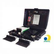 Caixa CTO de Atendimento 1X16 Portas - 2 Travas e Chave - SL