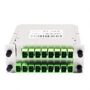 Cassete Splitter Optico 1 X 16 Conector SC/APC NAZDA