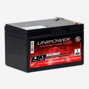 Bateria Selada UNIPOWER UP12120  Nobreak Equi. Médico 12V 12Ah