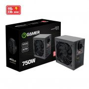 Fonte Gamer ATX 750W Real BPC/7400-B BOX