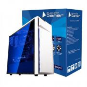 Gabinete Gamer USB 3.0 Frontal Lateral Transparente Bluecase BG-015 Branco