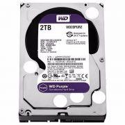 HD 2TB WD Purple Sata 64mb Segurança WD20PURZ