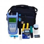 Kit Ferramentas 9 Peças de manutenção Óptica FTTH  Easy4link