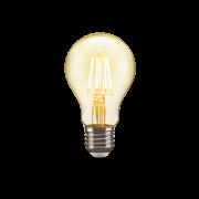 Lâmpada Led Filamento A60 Vidro Âmbar 4w Luz Amarela 48LA60F04AB0 Elgin