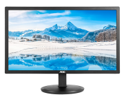 Monitor AOC 21.5 LED E2280SWDN Preto Widescreen DVI / VGA