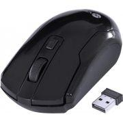 Mouse Óptico Sem Fio Wifi W700 1000DPI Preto Vinik