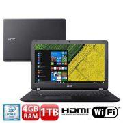 Notebook Acer ES1-572-3562 Intel Core I3 4GB 1TB Tela Led 15.6