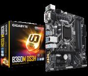 Placa Mãe GIGABYTE Intel LGA 1151 mATX B360M DS3H DDR4