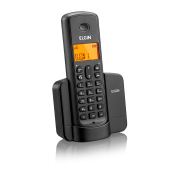 Telefone Sem Fio Elgin TSF 8001 com Viva-Voz e Identificador de Chamadas Preto