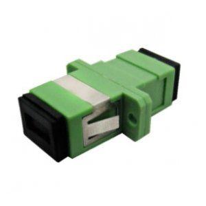 Adaptador Optico Simplex Monomodo Sm - Sc / Apc Verde Nazda