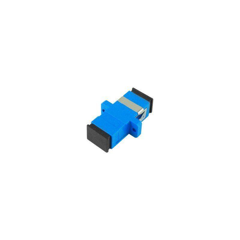 Adaptador Óptico Simplex Monomodo SM - SC / UPC Azul Nazda