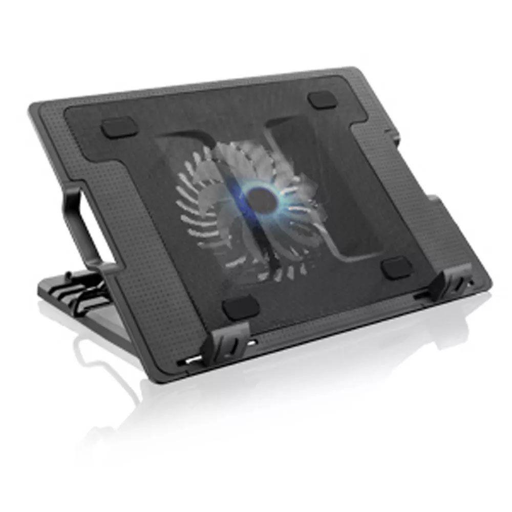 Base Notebook de Metal c/ Cooler e Regulagem Multilaser AC166