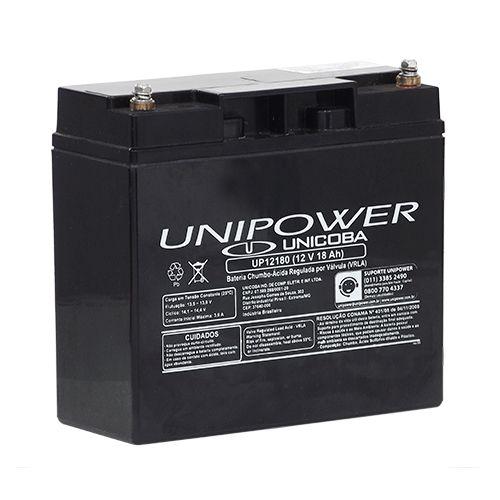 Bateria Selada 12V 18Ah UNIPOWER UP12180 para Nobreak