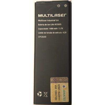 Bateria para Smartphone Multilaser MS40S BCS025 (P9025, P9026) PR057 MULTILASER