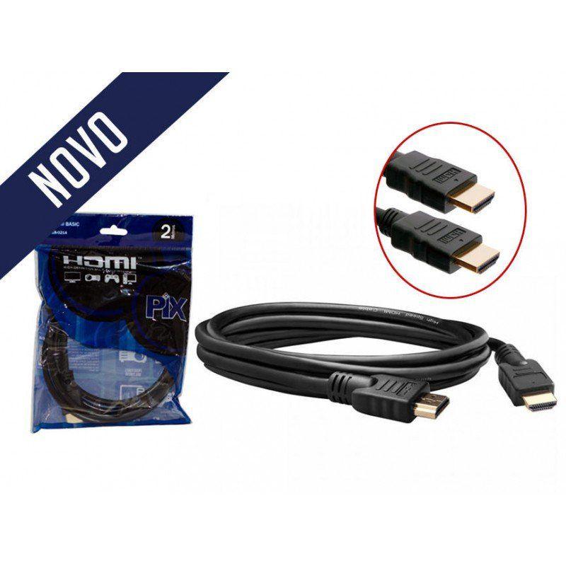 CABO HDMI 4K 1.4 ULTRA HD 2 METROS PIX