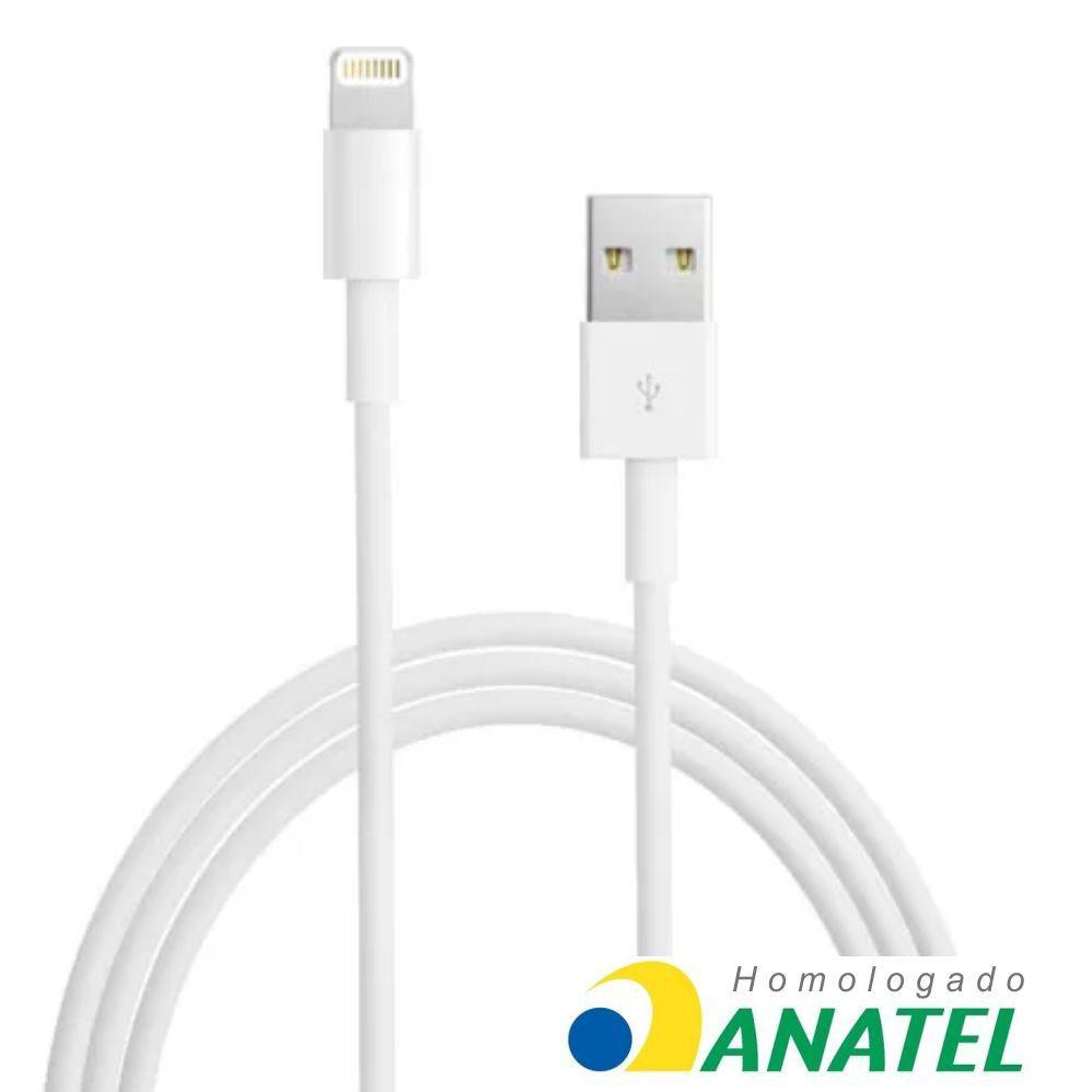 Cabo USB Iphone 5 E 6 Homologado 2m USB-LT2002WH Pluscable