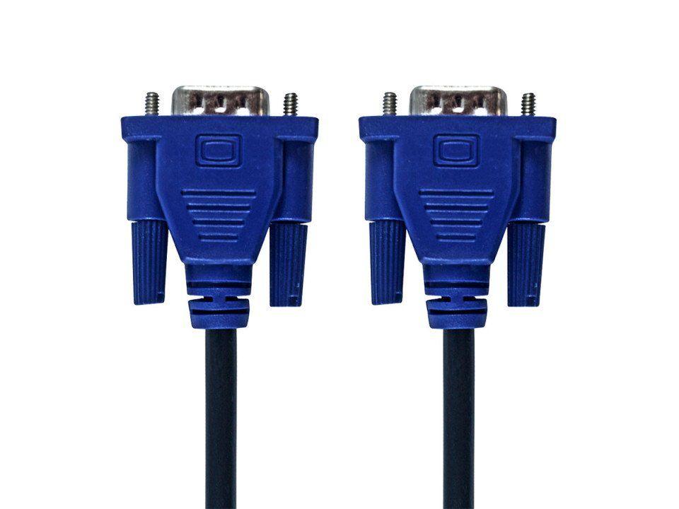 Cabo VGA 1,8 metros p/ Monitor com Filtro Hardline HL-VGA18