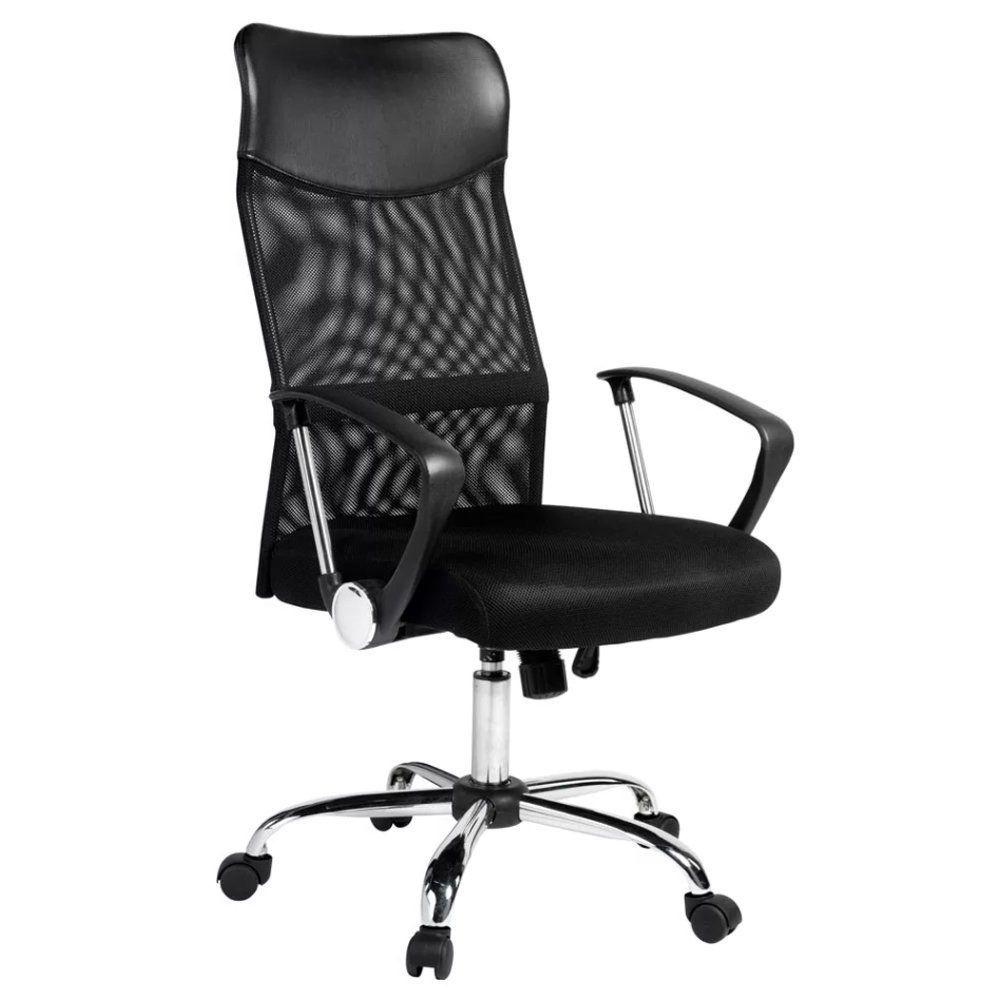 Cadeira Presidente Giratória Preta MYMAX