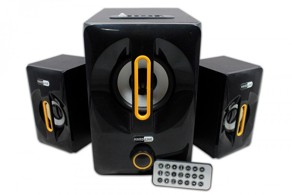 Caixa de Som Bluetooth USB com Controle Remoto Hardline As-W815