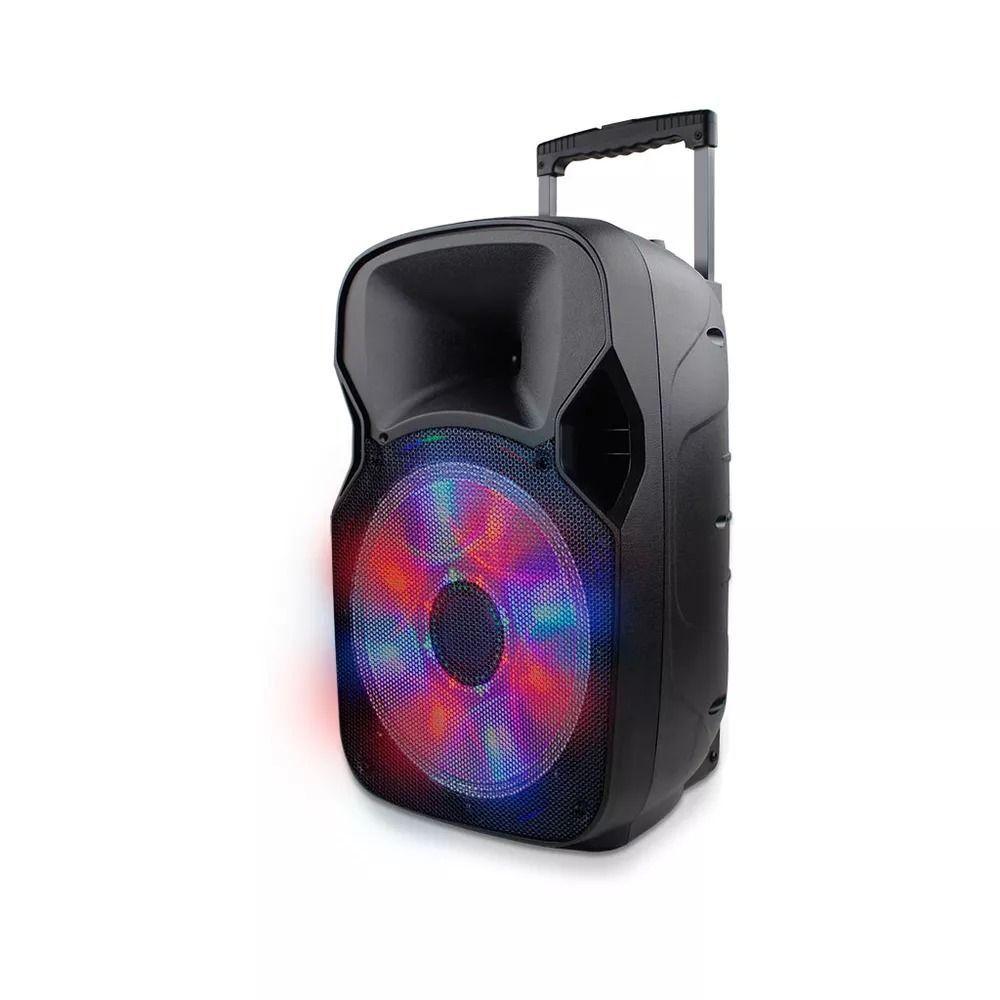 Caixa de Som Amplificada Bluetooth Multifuncional Multilaser SP219