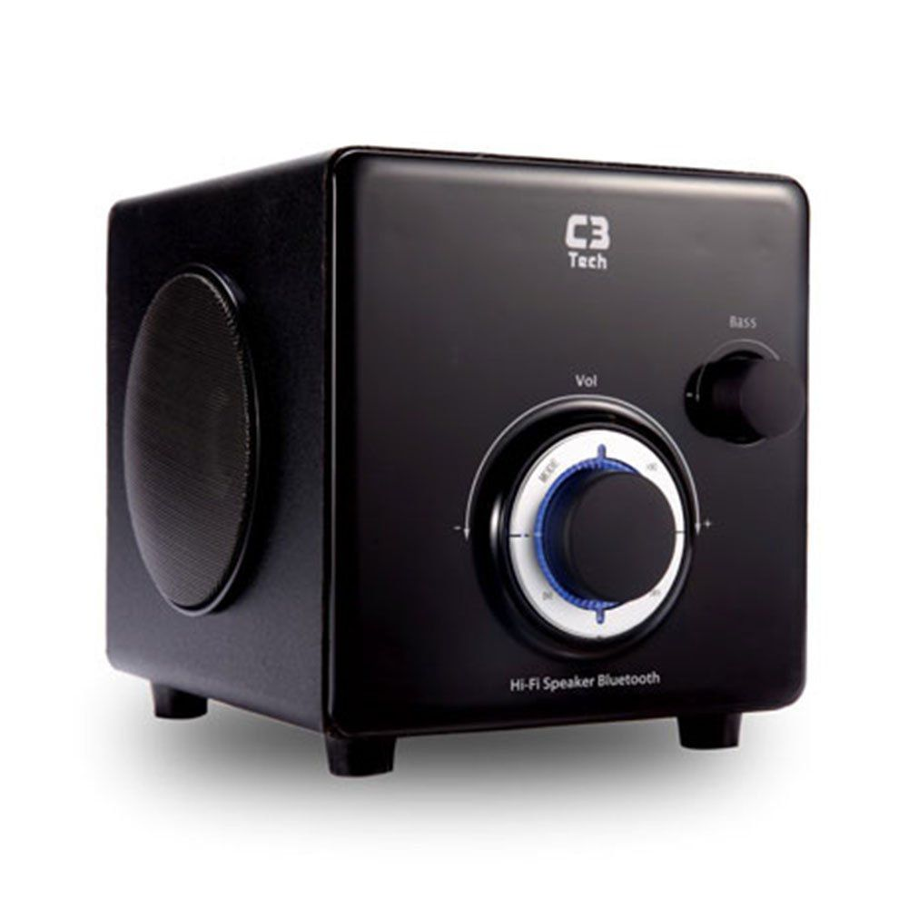 Caixa de Som Mini System C3tech SP-330B BK