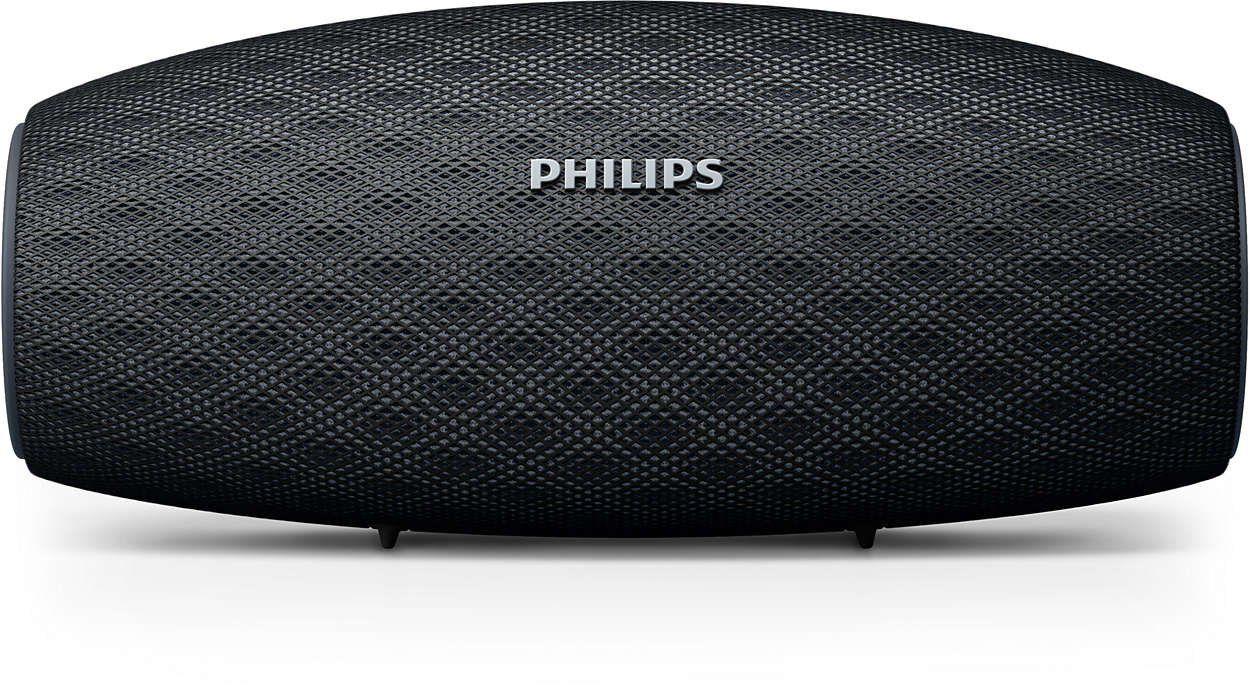 Caixa de Som Portátil Philips BT7900B/00 Prova D'água Preto