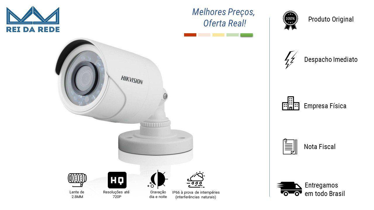 Camera Bullet HD 1.0 Megapixel DS 2CE16C0T IRP Hikvision