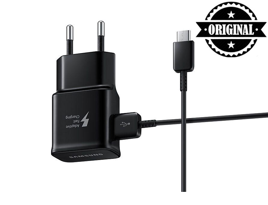 Carregador USB-C ULTRA RÁPIDO EP-TA20BBBCGBR Samsung