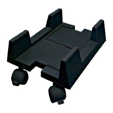 Carrinho ajustável com Rodas p Computadores e Nobreak