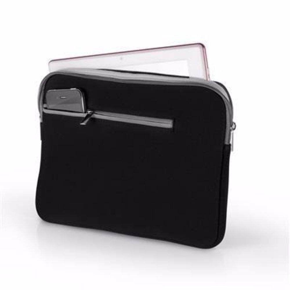 "Case em Neopreme p/Notebook até 15,6"" Preto E Cinza Multilaser BO400"