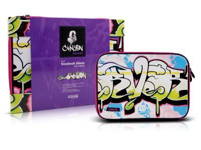 Case para Notebook Neopreme 13.3 Roxo CANYON CNL-NB04D