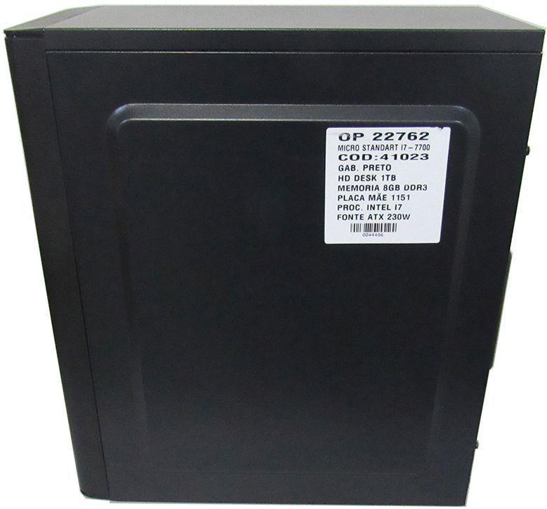 Computador Core I5 3570 3.4ghz 4GB 1TB Rei da Rede RR26