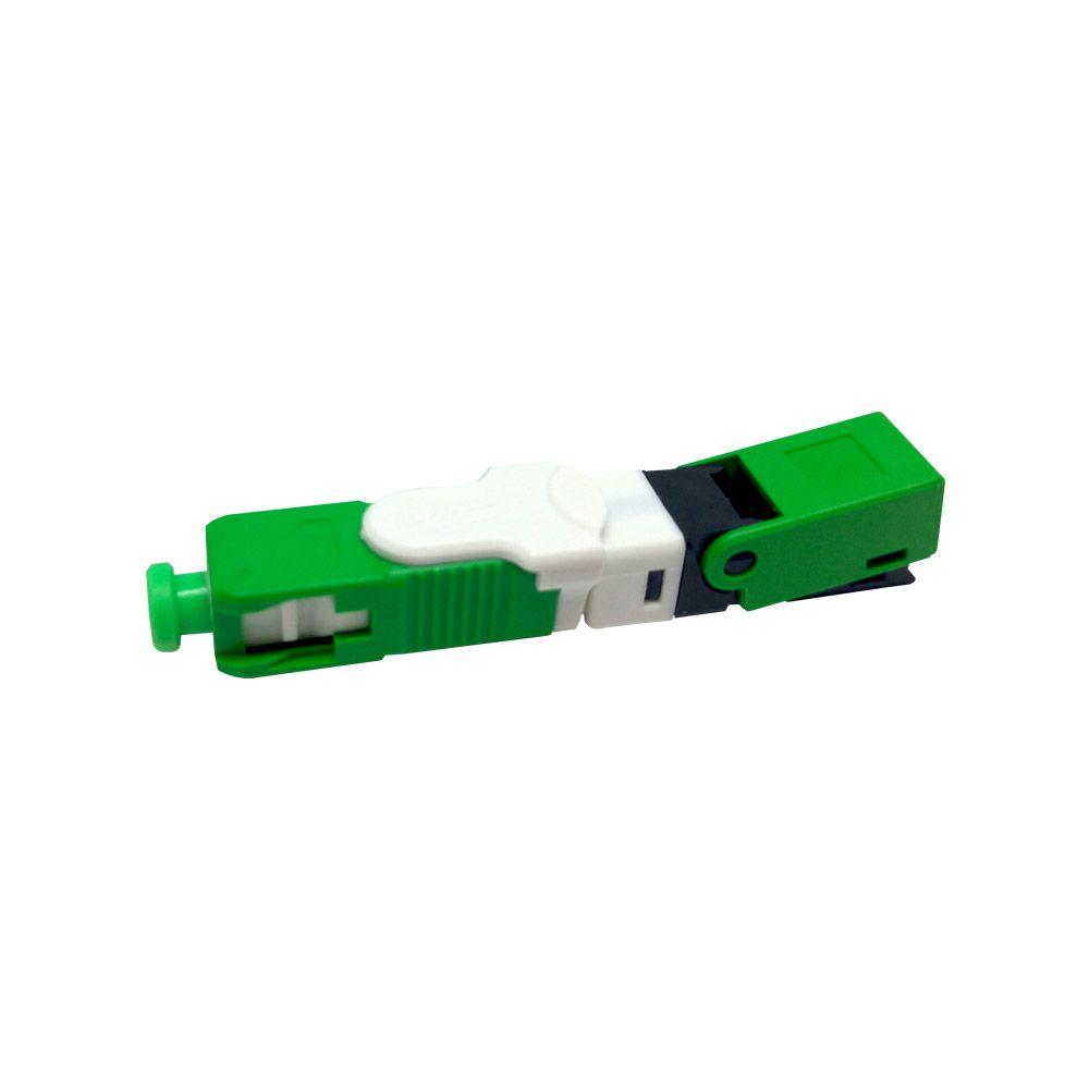 Conector Fast SC/APC SM Click HOEA2158 O-TECH