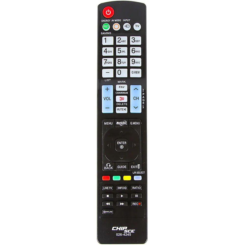 Controle Remoto para Smart Tv Led LG 3D AKB-72914245