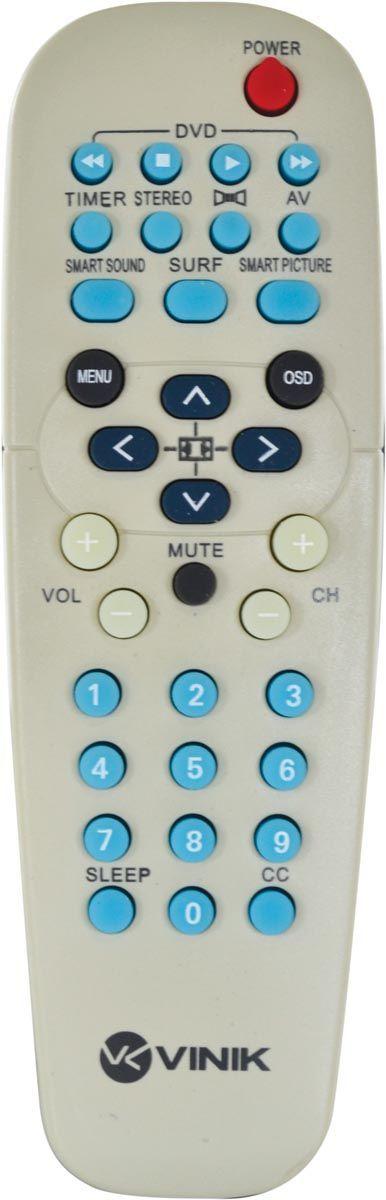 Controle Remoto para Tv Philips CRT20 VINIK