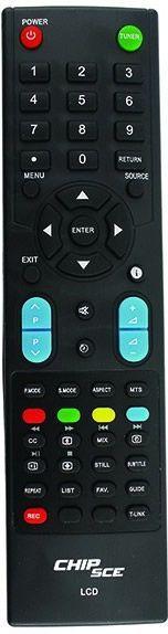 """Controle remoto TV Philco LCD 32"""" a 42"""""""
