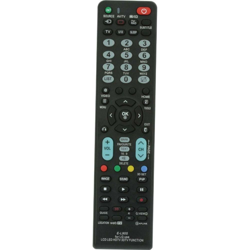 Controle Remoto Universal para TV LCD LG 026-9892 CHIPSCE